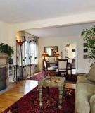 Trang trí phòng khách có màu sắc hợp về phong thủy, đẹp về thẩm mỹ