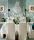 Phòng ăn tinh tế, sang trọng với phong cách cổ điển