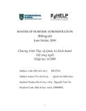Luận văn:PHÂN TÍCH VÀ ĐÁNH GIÁ CHIẾN LƯỢC CỦA CÔNG TY CỔ PHẦN SỮA QUỐC TẾ(IDP) GIAI ĐOẠN 2006 – 2010
