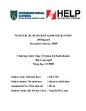 Luận văn:Phân tích đánh giá chiến lược kinh doanh của Công ty cổ phần Khóa Minh Khai theo mô hình Delta và bản đồ chiến lược