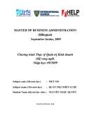 Luận văn:Phân tích, đánh giá và đề xuất chiến lược của Ben Thanh TSC giai đoạn 2011 – 2015