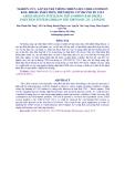 NGHIÊN CỨU, LẮP ĐẶT HỆ THỐNG NHIÊN LIỆU CRDI (COMMON RAIL DIESEL INJECTION) TRÊN ĐỘNG CƠ VIKYNO RV 125-2