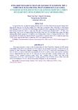 TỔNG HỢP POTASSIUM TITANATE K4TI3O8 TỪ ILMENITE THỪA THIÊN HUẾ BẰNG PHƯƠNG PHÁP SUBMOLTEN SALT (SMS)