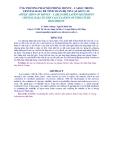 ỨNG PHƯƠNG PHÁP MÔ PHỎNG MONTE – CARLO TRONG CRYSTAL BALL ĐỂ TÍNH TOÁN ĐỘ TIN CẬY KẾT CẤU