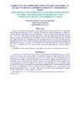NGHIÊN CỨU QUÁ TRÌNH THỦY PHÂN-LÊN MEN AXIT XITRIC TỪ BÃ ĐẬU NÀNH BẰNG ASPERILLUS ORYZAE VÀ ASPERGILLUS NIGER