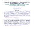 NGHIÊN CỨU KHẢ NĂNG HẤP PHỤ CÁC ION CU(II), ZN(II) CỦA XƠ DỪA BIẾN TÍNH BẰNG AXIT ACRYLIC