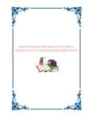 PHÂN TÍCH VÀ ĐÁNH GIÁ THỰC TRẠNG CƠ CẤU TỔ CHỨC VÀ PHÂN QUYỀN CỦA CÔNG TY TNHH THIẾT BỊ CÔNG NGHIỆP VÂN TRUNG