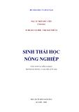 Ebook Giáo trình Sinh thái học nông nghiệp -  NXB Giáo dục