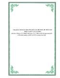 Chuyên đề: GIÁM SÁT THI CÔNG KẾT CẤU BÊ TÔNG, BÊ TÔNG CỐT THÉP VÀ KẾT CẤU GẠCH ĐÁ