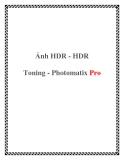 Ảnh HDR - HDR Toning - Photomatix Pro