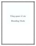 Tổng quan về các Blending Mode