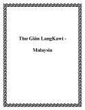 Thư Giãn LangKawi Malaysia