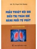 Điều trị tràn khí màng phổi tự phát bằng cách phẫu thuật nội soi