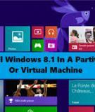 Cài đặt Windows 8.1 từ ổ đĩa USB