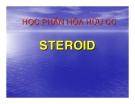 Bài giảng: STEROID