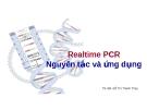 Realtime PCR Nguyên tắc và ứng dụng