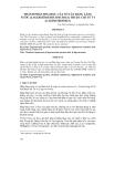 THÀNH PHẦN HÓA HỌC CỦA VỎ CÂY BẰNG LĂNG NƯỚC (LAGERSTROEMIA SPECIOSA) THUỘC CHI TỬ VI (LAGERSTROEMIA)