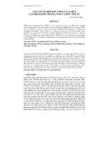 TẠO TÁI TỔ HỢP ADN VP28 CỦA VI-RÚT GÂY BỆNH ĐỐM TRẮNG (WSSV) TRÊN TÔM SÚ
