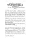 ẢNH HƯỞNG CỦA PHÂN BIOGRO, PHƯƠNG PHÁP TƯỚI TIẾT KIỆM NƯỚC ĐẾN NĂNG SUẤT VÀ PHÁT THẢI KHÍ NHÀ KÍNH TRÊN RUỘNG LÚA
