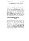 QUAN HỆ GIỮA CÁC GIỐNG, LOÀI HOA LAN (ORCHIDACEAE) DỰA TRÊN ĐẶC ĐIỂM HÌNH THÁI