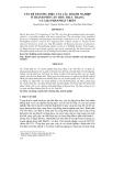 VẤN ĐỀ THƯƠNG HIỆU CỦA CÁC DOANH NGHIỆP Ở THÀNH PHỐ CẦN THƠ: THỰC TRẠNG VÀ GIẢI PHÁP PHÁT TRIỂN