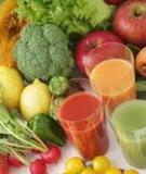 10 thực phẩm giúp giải độc cho cơ thể.