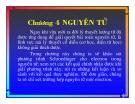 Bài giảng Lý: Chương 4. Nguyên tử