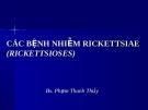 Các bệnh nhiễm Rickettsioses