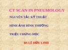 CT SCAN IN PNEUMOLOGY