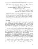 """Báo cáo """"  ƯỚC TÍNH SINH KHỐI TRÊN BỀ MẶT TÁN RỪNG SỬ DỤNG ẢNH VỆ TINH ALOS AVNIR-2 """""""