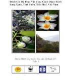Bài giảng Đánh giá hệ thực vật vùng cảnh quan hành lang xanh tỉnh Thừa Thiên Huế - Việt Nam (Phần 1)