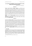 SỰ CẢM ỨNG MẦM BÊN VÀ TẠO CỤM CHỒI CÂY NẮP BÌNH (NEPENTHES MIRABILIS)