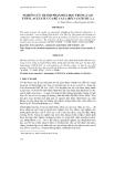NGHIÊN CỨU THÀNH PHẦN HÓA HỌC TRONG CAO ETHYL ACETATE CỦA RỄ CAU (ARECA CATECHU L.)
