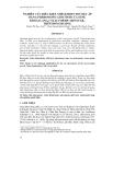 NGHIÊN CỨU ĐIỀU KIỆN THÍCH HỢP CHO VIỆC ÁP DỤNG PHEROMONE GIỚI TÍNH CỦA SÙNG KHOAI LANG, CYLAS FORMICARIUS FAB., TRÊN ĐỒNG RUỘNG