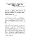 KHẢO SÁT ẢNH HƯỞNG CỦA NỒNG ĐỘ TIỀN CHẤT LÊN KÍCH THƯỚC VÀ TỪ TÍNH HẠT NANO OXIDE SẮT TỪ Fe3O4