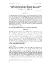 NGHIÊN CỨU MỘT SỐ CHỈ TIÊU SINH HỌC CÁ THÁT LÁT CÒM (CHITALA CHITALA) GIAI ĐOẠN PHÔI, CÁ BỘT VÀ CÁ GIỐNG