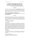 PHÂN LẬP VÀ NHẬN DANH CẤU TRÚC HAI FLAVONOL TỪ DỊCH CHIẾT ETHYL ACETATE CỦA CÂY CỎ LÀO-EUPATORIUM ODORATUM L.