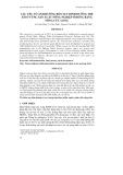 CÁC YẾU TỐ ẢNH HƯỞNG ĐẾN SUY DINH DƯỠNG TRẺ EM Ở VÙNG SẢN XUẤT NÔNG NGHIỆP Ở ĐỒNG BẰNG SÔNG CỬU LONG