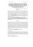 KHẢ NĂNG CỐ ĐỊNH ĐẠM CỦA CHỦNG VI KHUẨN AZOSPIRILLUM LIPOFERUM R29B1 CÓ KẾT HỢP CÁC LIỀU LƯỢNG PHÂN ĐẠM KHÁC NHAU LÊN SỰ SINH TRƯỞNG VÀ NĂNG SUẤT TRÊN CÂY LÚA TRONG ĐIỀU KIỆN NHÀ LƯỚI