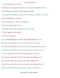 Cấu trúc viết lại câu