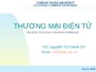 Bài giảng Thương mại điện tử: Hợp đồng thương mại điện tử - ThS. Nguyễn Thị Khánh Chi