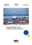 Khuyến nghị phương án đàm phán  Hiệp định Việt Nam – Hoa Kỳ về hợp tác trong lĩnh vực hải quan