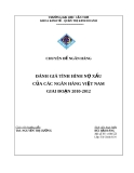 ĐÁNH GIÁ TÌNH HÌNH NỢ XẤU CỦA CÁC NGÂN HÀNG VIỆT NAM GIAI ĐOẠN 2010-2012
