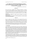 CÁC NHÂN TỐ ẢNH HƯỞNG ĐẾN HIỆU QUẢ HOẠT ĐỘNG KINH DOANH CỦA DOANH NGHIỆP NHỎ VÀ VỪA Ở THÀNH PHỐ CẦN THƠ