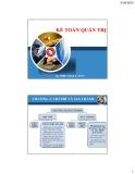 Kế toán quản trị: Chương 2 - Chi phí và giá thành