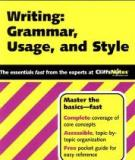 Writing: Grammar, usage and style