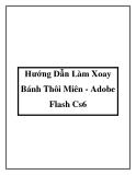 Hướng Dẫn Làm Xoay Bánh Thôi Miên - Adobe Flash Cs6