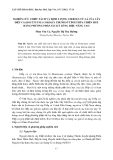 NGHIÊN CỨU CHIẾT TÁCH VÀ ĐỊNH LƯỢNG STEROLS TỪ LÁ CỦA CÂY DIẾP CÁ (HOUTTUYNIA CORDATA THUNB) Ở TỈNH THỪA THIÊN HUẾ BẰNG PHƯƠNG PHÁP SẮC KÝ LỎNG HIỆU NĂNG CAO