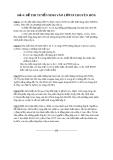 Đề 4: ĐỀ THI TUYỂN SINH VÀO LỚP 10 CHUYÊN HÓA