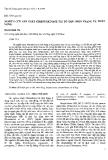 """Báo cáo """" Nghiên cứu sản xuất Streptokinase tái tổ hợp: Hiện trạng và triển vọng """""""